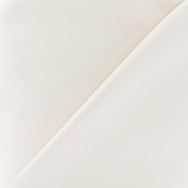 Satiny Lycra Gabardine Fabric - Light Beige x 10cm