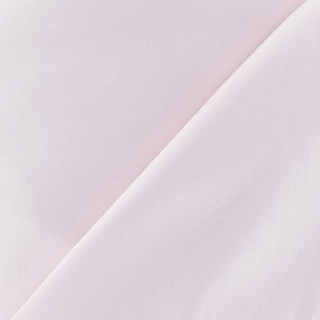 Satiny Lycra Gabardine Fabric - Dragée Pink x 10cm
