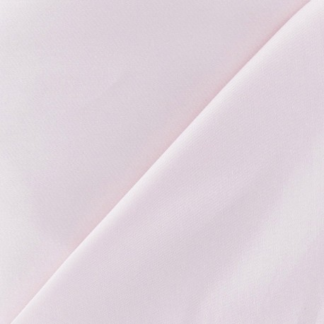 Tissu Gabardine Lycra rose dragée x 10cm