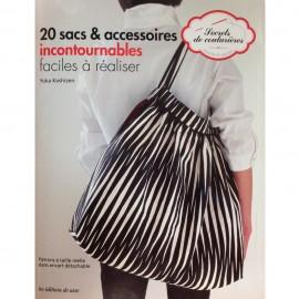 """Livre """"20 sacs et accessoires incontournables"""""""