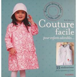 """Livre """"Couture facile pour enfants adorables"""""""
