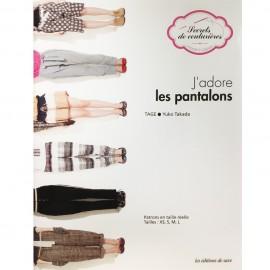 """Livre """"J'adore les pantalons"""""""