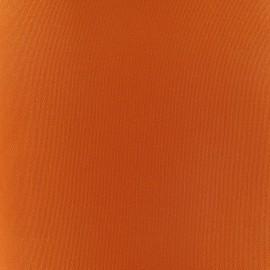 Tissu toile transat Playa Uni orange x 10cm