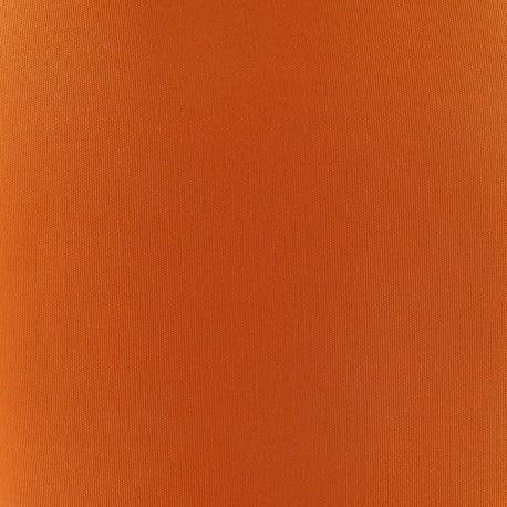Tissu toile transat Playa Uni orange (43cm) x 10cm