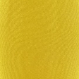 Tissu toile transat Playa Uni jaune (43cm) x 10cm