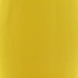Tissu toile transat Playa Uni jaune x 10cm