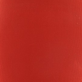 Tissu toile transat Playa Uni rouge (43cm) x 10cm