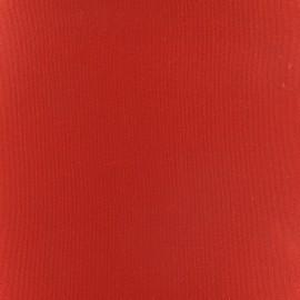 Tissu toile transat Playa Uni rouge x 10cm