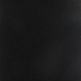 Tissu toile transat Playa uni noir (43cm) x 10cm