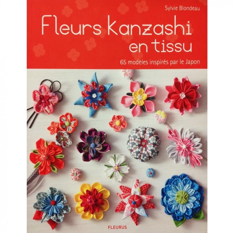 livre fleurs kanzashi en tissu ma petite mercerie. Black Bedroom Furniture Sets. Home Design Ideas