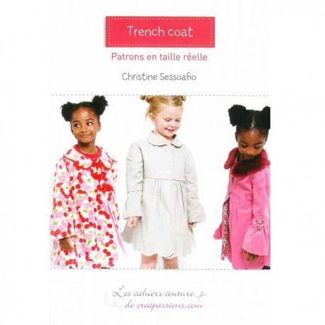 """Patron Créapassions """"Trench Coat enfant"""""""