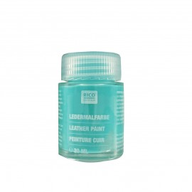 Leather paint 20 ml - turquoise