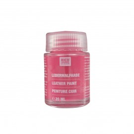 Leather paint 20 ml - pink