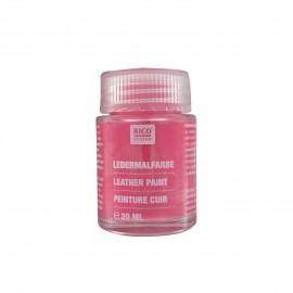 Peinture cuir pink 20 ml