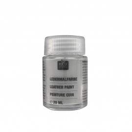 Leather paint 20 ml - silver