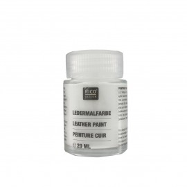Leather paint 20 ml - white