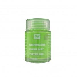 Peinture cuir vert végétal 20 ml
