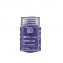 Peinture cuir violet 20 ml