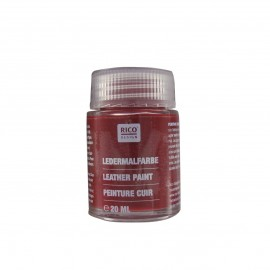 Leather paint 20 ml - garnet red