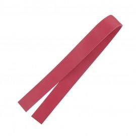 ♥ Leather strip bag-handles, Bubble - hot pink ♥