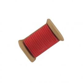 Bouton couture Bobine rouge