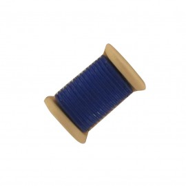 Sewing Button, bobbin - navy blue