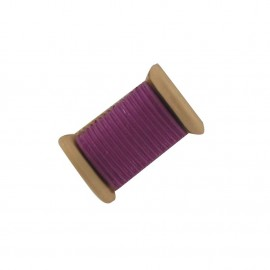 Sewing Button, bobbin - purple