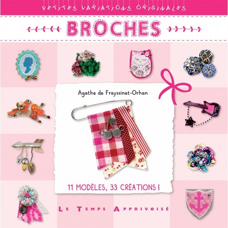 "Book ""Broches"""