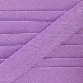 Multi-purpose-fabric Bias binding 20mm - mauve