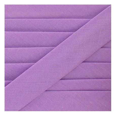 Multi-purpose-fabric Bias binding 20mm - mauve