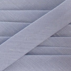 Multi-purpose-fabric Bias binding 20mm - light grey