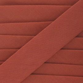 Biais Tout Textile rouille 20 mm
