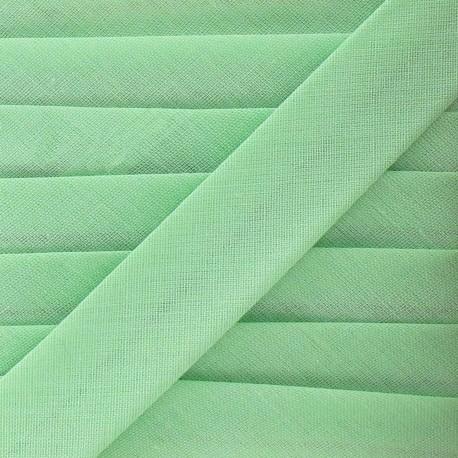 Multi-purpose-fabric bias binding, 20mm - almond green