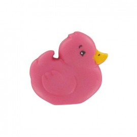 Bouton Polyester Poussin rose