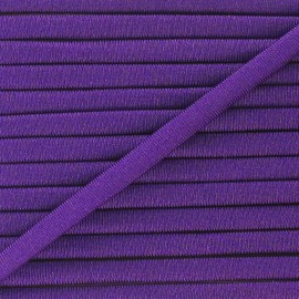 Spaghetti Elastic Cord 5mm, plain - purple