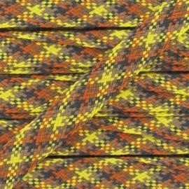 Ruban Jacquard Tressé jaune