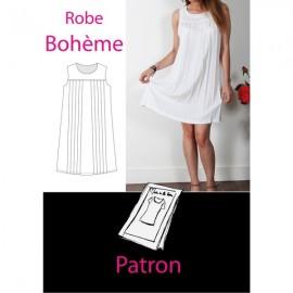 Patron Robe bohème