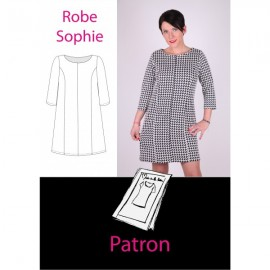 """Sophie Dress"" sewing pattern - multicolored"