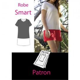 """Smart Dress"" sewing pattern - multicolored"