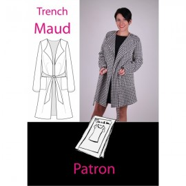 Patron Femme Trench Maud