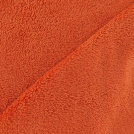 Security blanket fabric - brick-red x 10cm