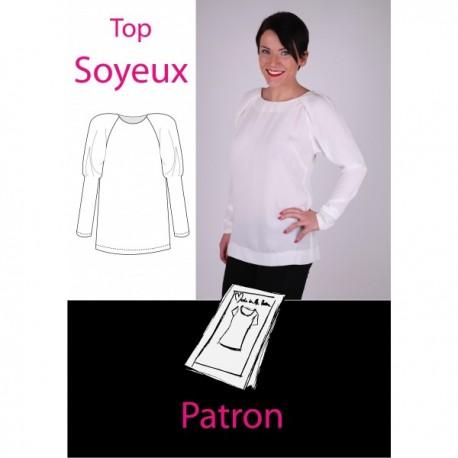 Patron Top Soyeux