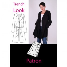 Patron Femme Trench look