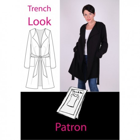 Patron Trench look