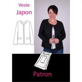 Patron Veste japon