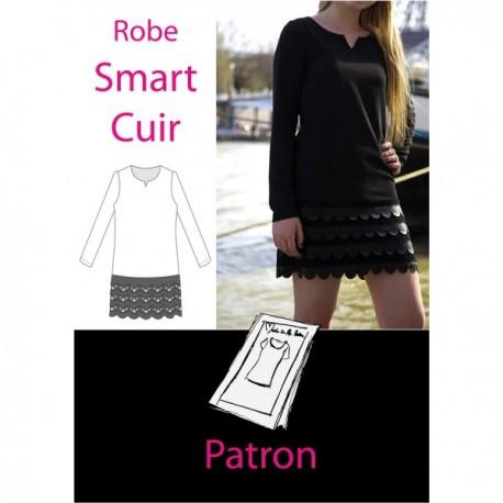 Patron Robe smart cuir