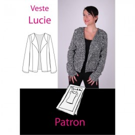 """""""Jacket Lucie"""" sewing pattern - multicolored"""