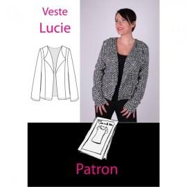 Patron Veste Lucie