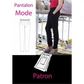 Patron Pantalon mode