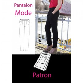 Patron Pantalon mode